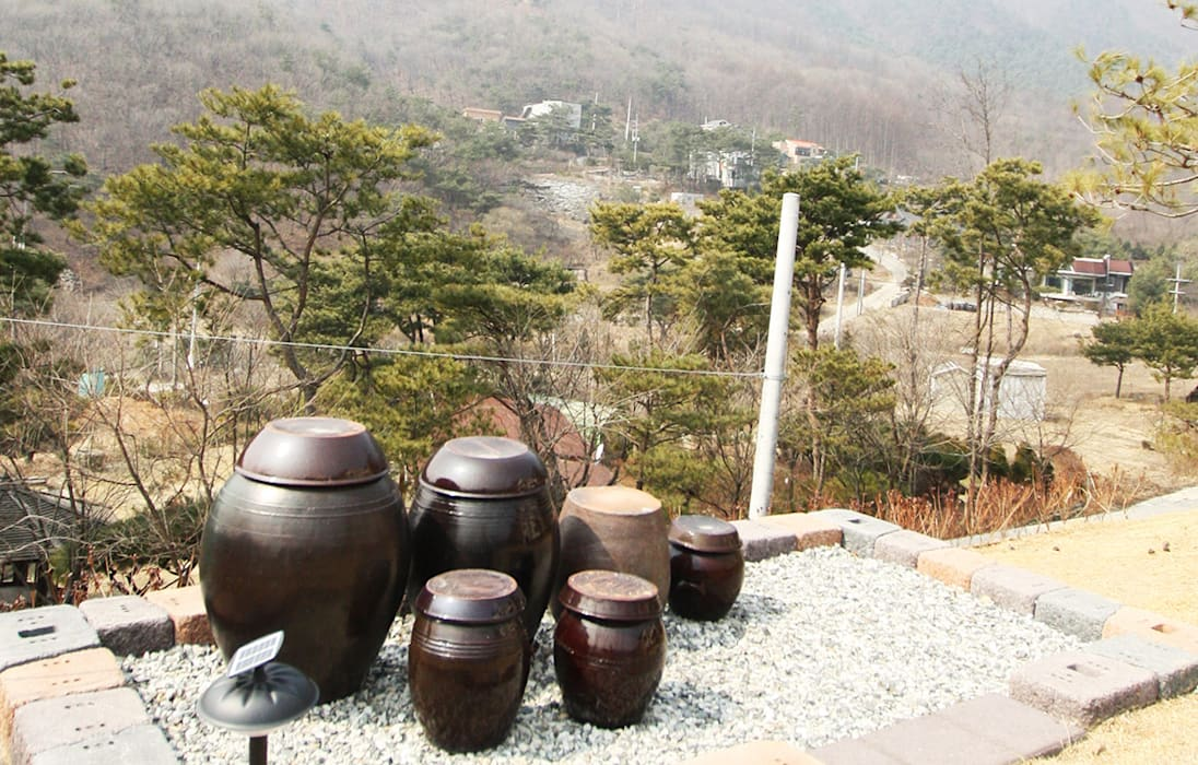 Sân trước theo 더존하우징, Hiện đại