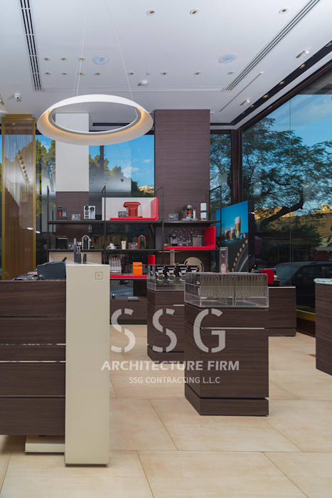 Nespresso Zamalek:  مراكز تسوق/ مولات تنفيذ SSG Contracting LLC, إنتقائي MDF