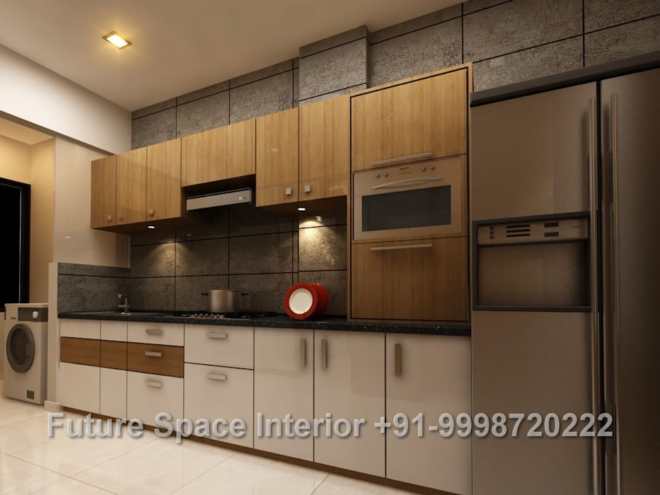 Kitchen Design Ideas:  Kitchen by Future Space Interior