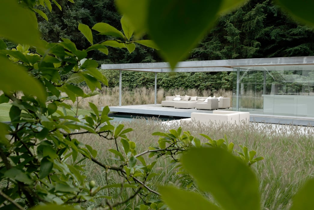 ​Trunk cathedral:  Garden by Andredw van Egmond  |  designing garden and landscape