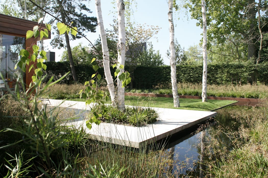 Andredw van Egmond | designing garden and landscape Minimalist style garden