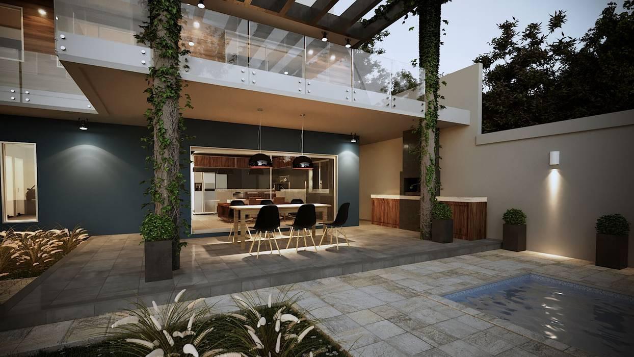 Cocinas de estilo  por Gelker Ribeiro Arquitetura | Arquiteto Rio de Janeiro, Asiático Madera Acabado en madera