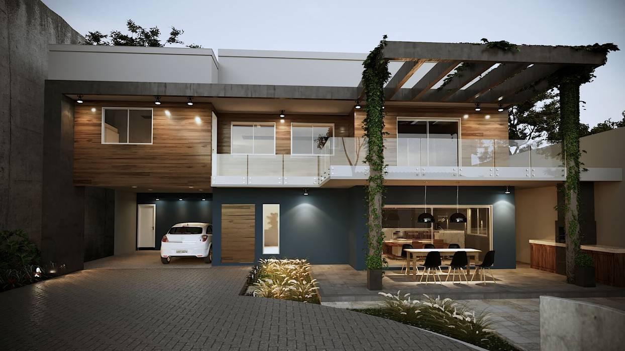 Condominios de estilo  por Gelker Ribeiro Arquitetura | Arquiteto Rio de Janeiro, Asiático