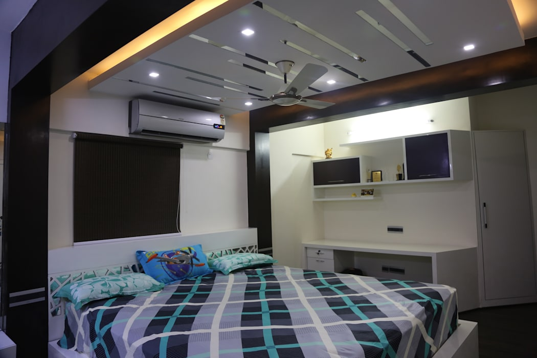 :  Bedroom by Vdezin Interiors