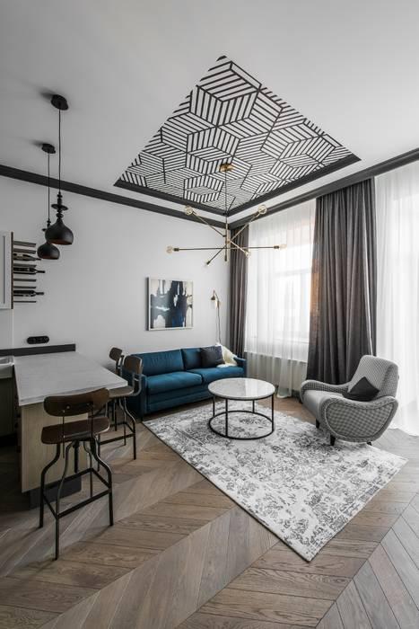 Salon de style par baltic design shop, scandinave bois effet ...