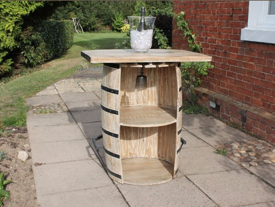 Single Barrel Bar:  Garden by Garden Furniture Centre