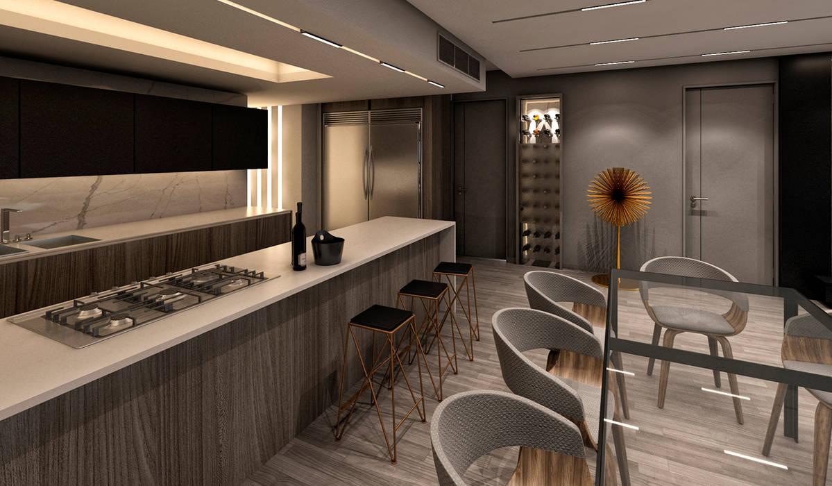 Apartamento Cimapark: Anexos de estilo  por NOGARQ C.A.