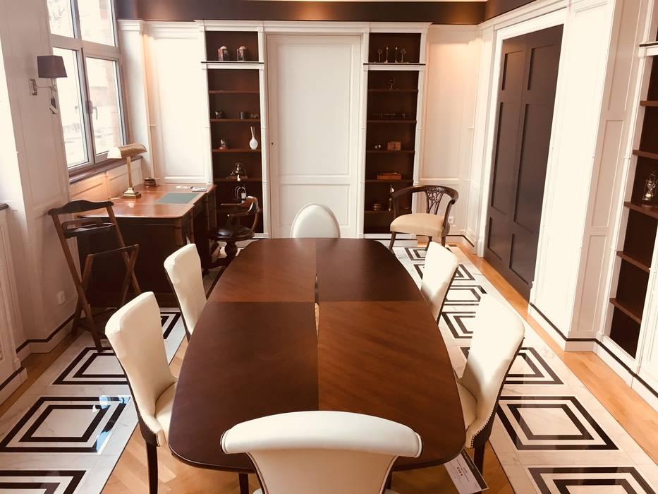 Oficinas y Tiendas de estilo  por CottageHomeArt - Est. 2012   Maßmöbelhaus & 3D Interior Design