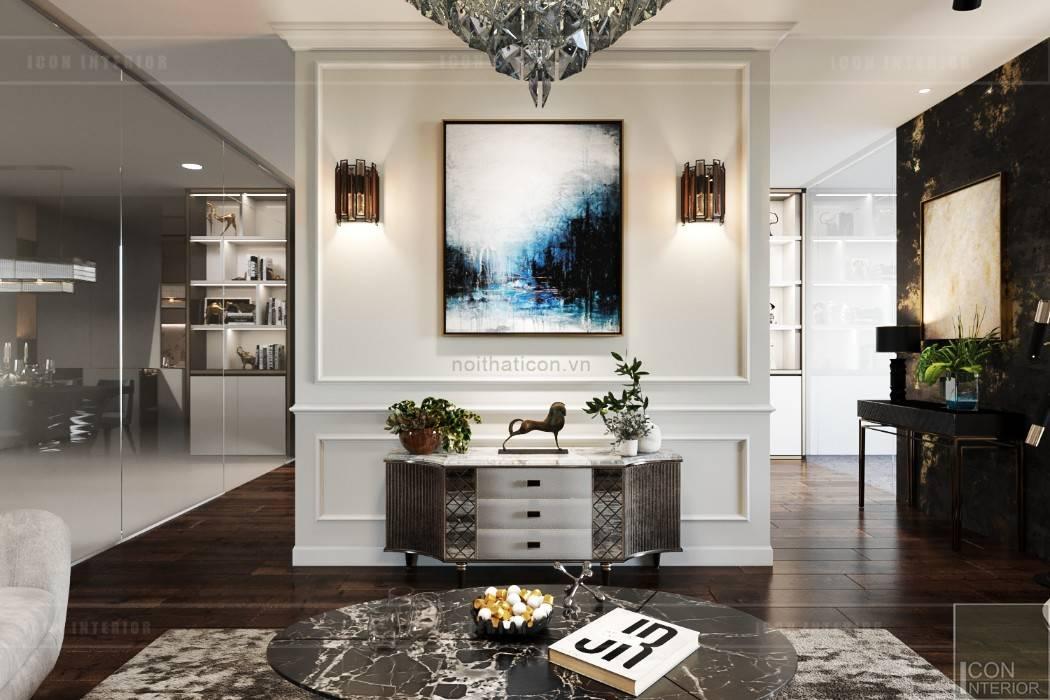 Moderne Wohnzimmer von ICON INTERIOR Modern