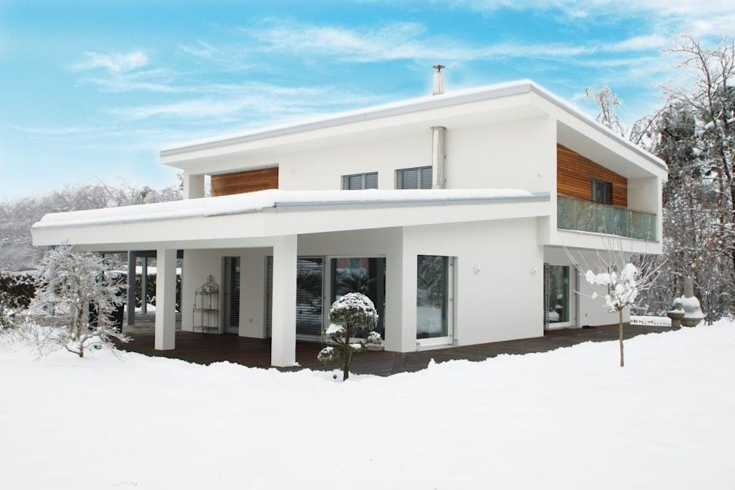 Case a progetto moderne casa di legno in stile di for Case legno moderne