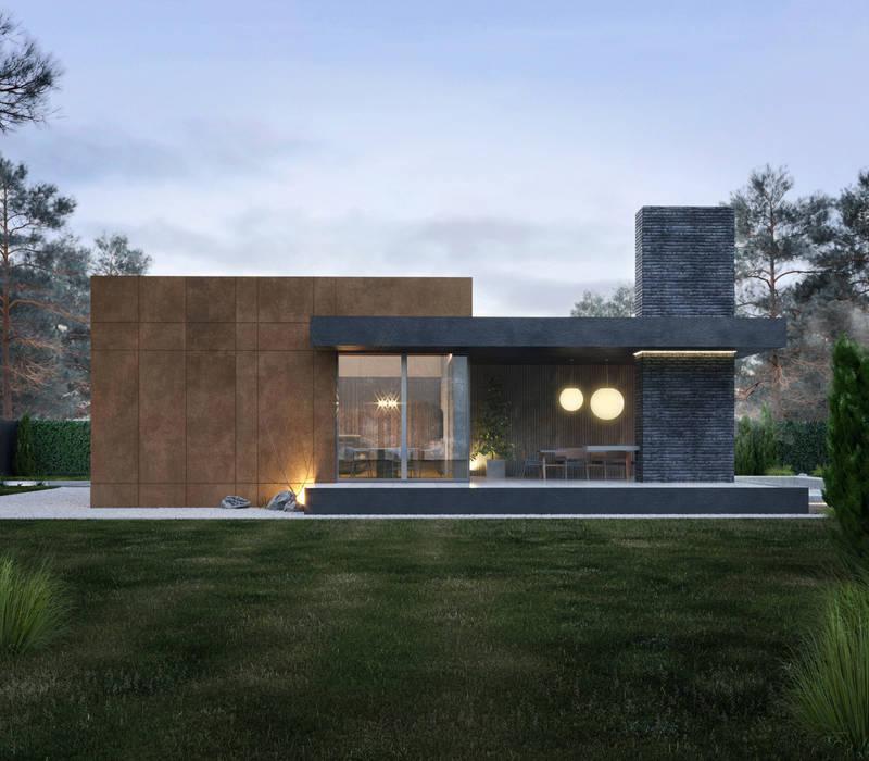Casas pequeñas de estilo  por Need Design