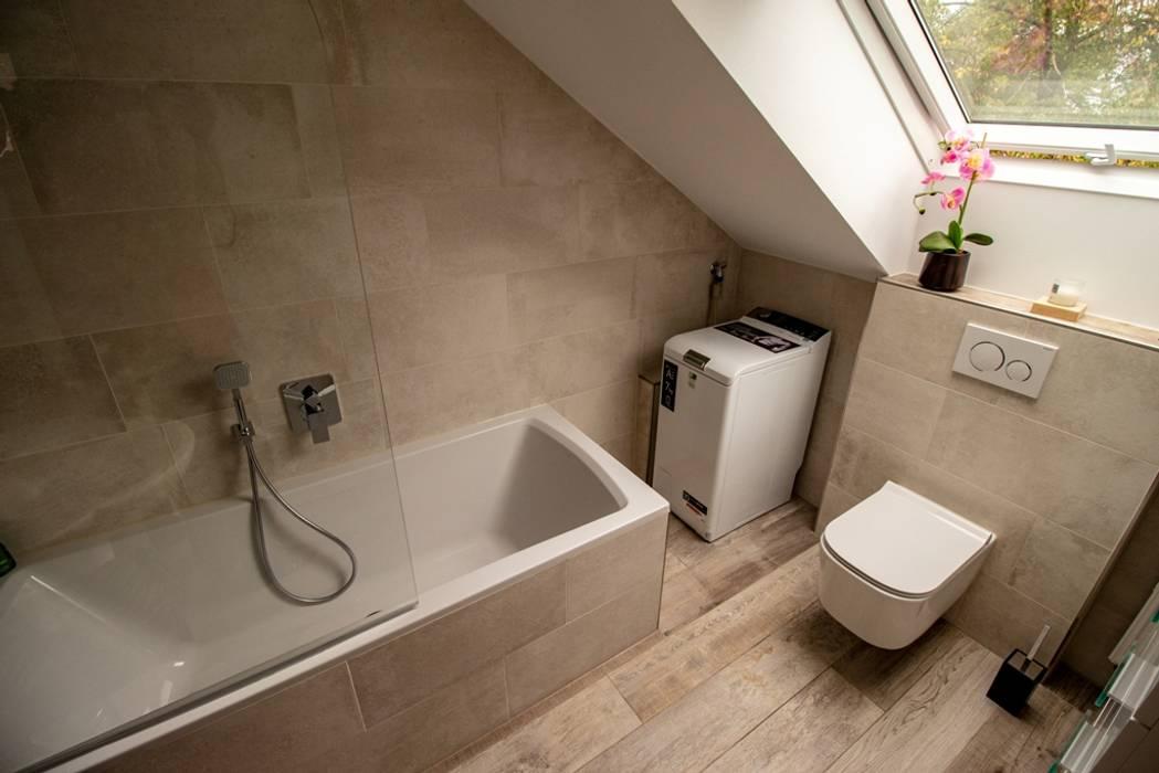 badezimmer mit dachschräge rustikale badezimmer von bad