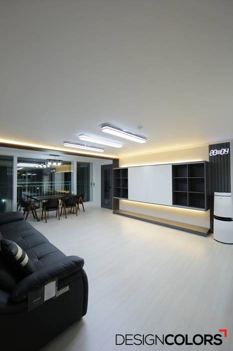 DESIGNCOLORS Salon moderne Blanc