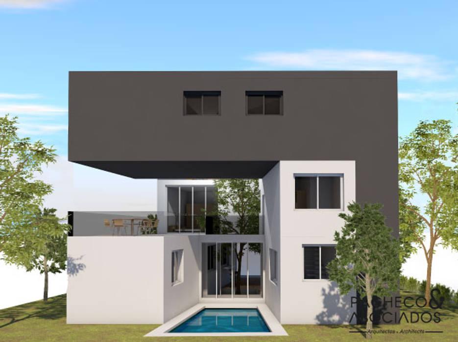 Pacheco & Asociados Einfamilienhaus Beton Grau