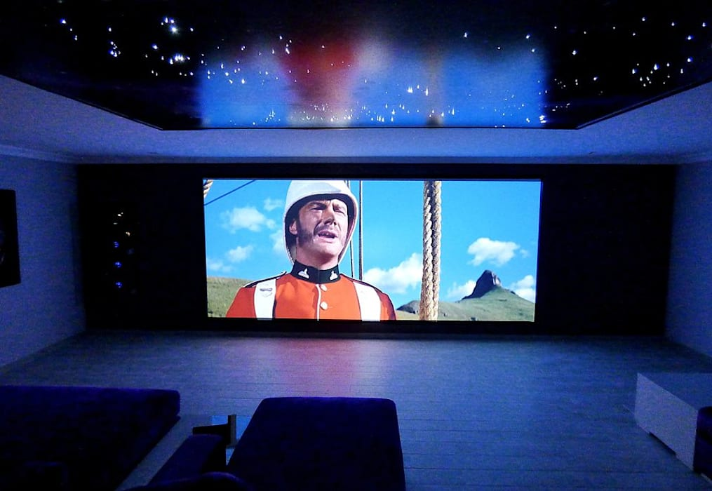Projection Dreams / CUSTOM CINEMA 360 LDA Медіа-зал MDF Фіолетовий / фіолетовий