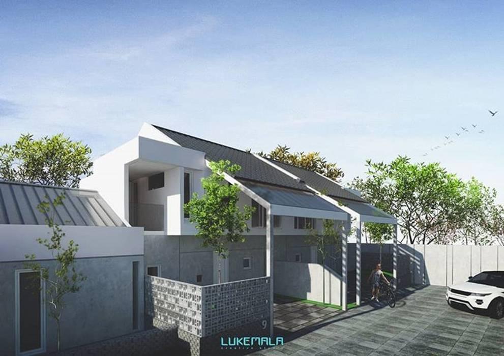 Eksterior Tipe 72/80:  Rumah by Lukemala Creative Studio