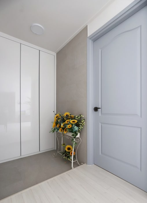 구미동 무지개 청구아파트: 디자인담다의  문
