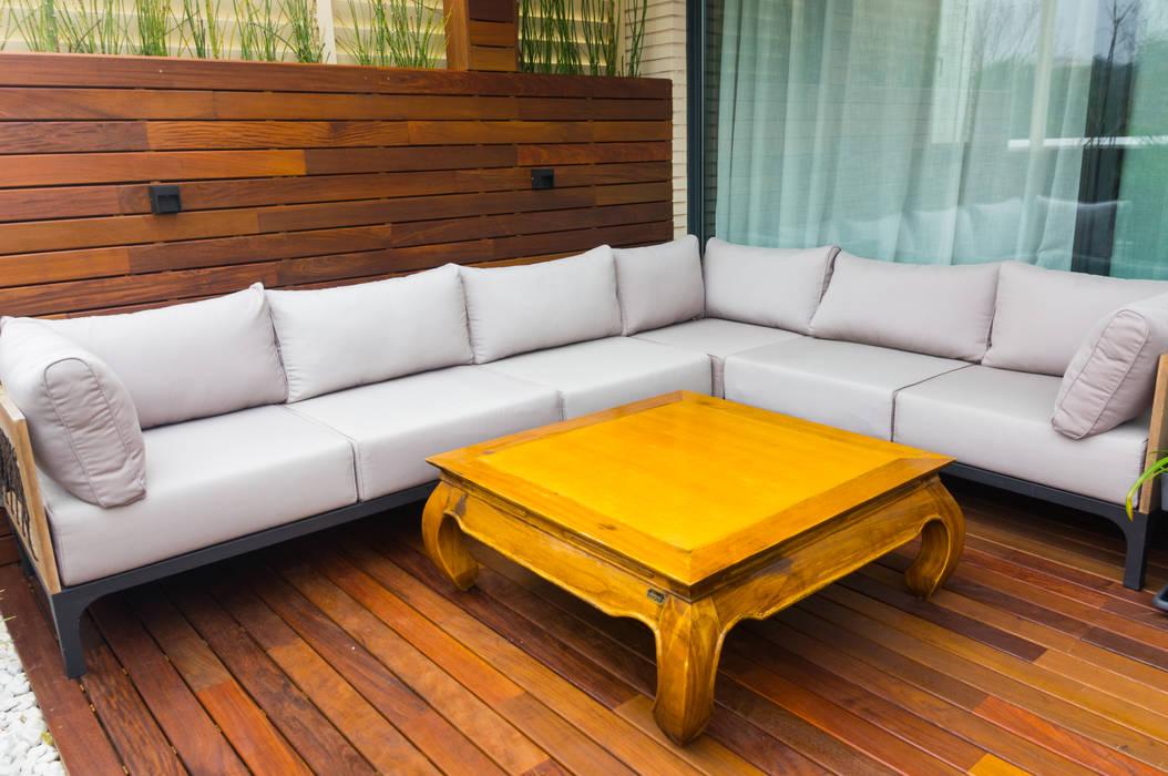 Chill out de madera : Terrazas de estilo  de La Patioteca