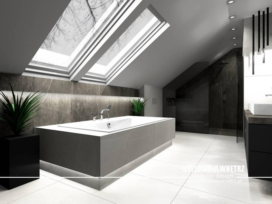 łazienka: styl , w kategorii Łazienka zaprojektowany przez Stylownia Wnętrz