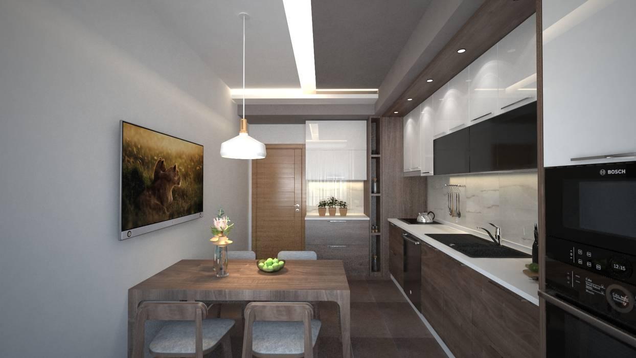 Modern kitchen by Meteor Mimarlık & Tasarım Modern