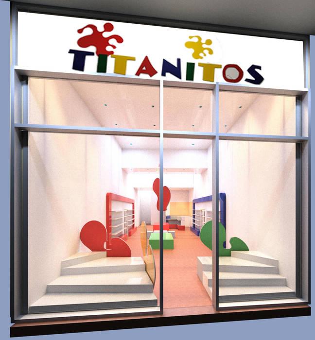 Propuesta de diseño presentada al cliente :  de estilo  por Faerman Stands y Asoc S.R.L. - Arquitectos - Rosario,Minimalista