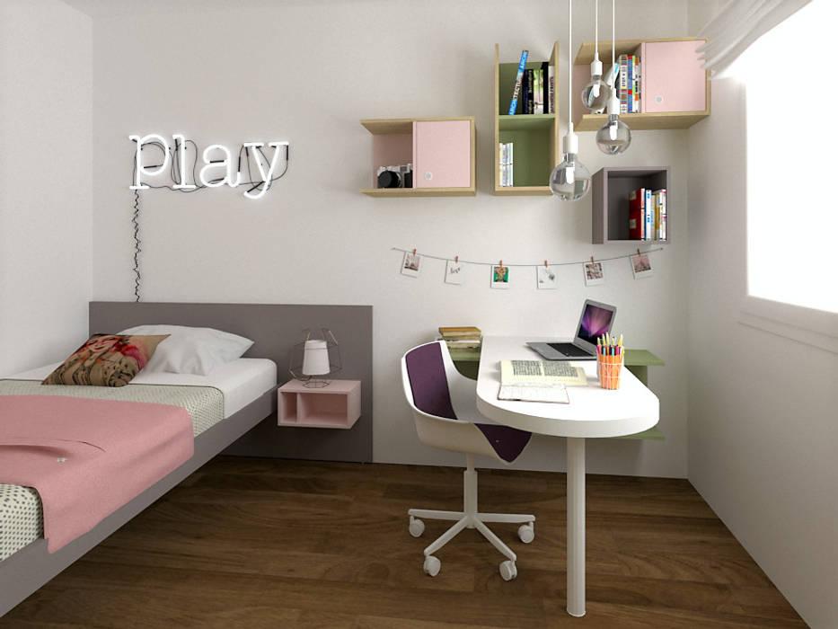 Scandinavian style bedroom by OGARREDO Scandinavian