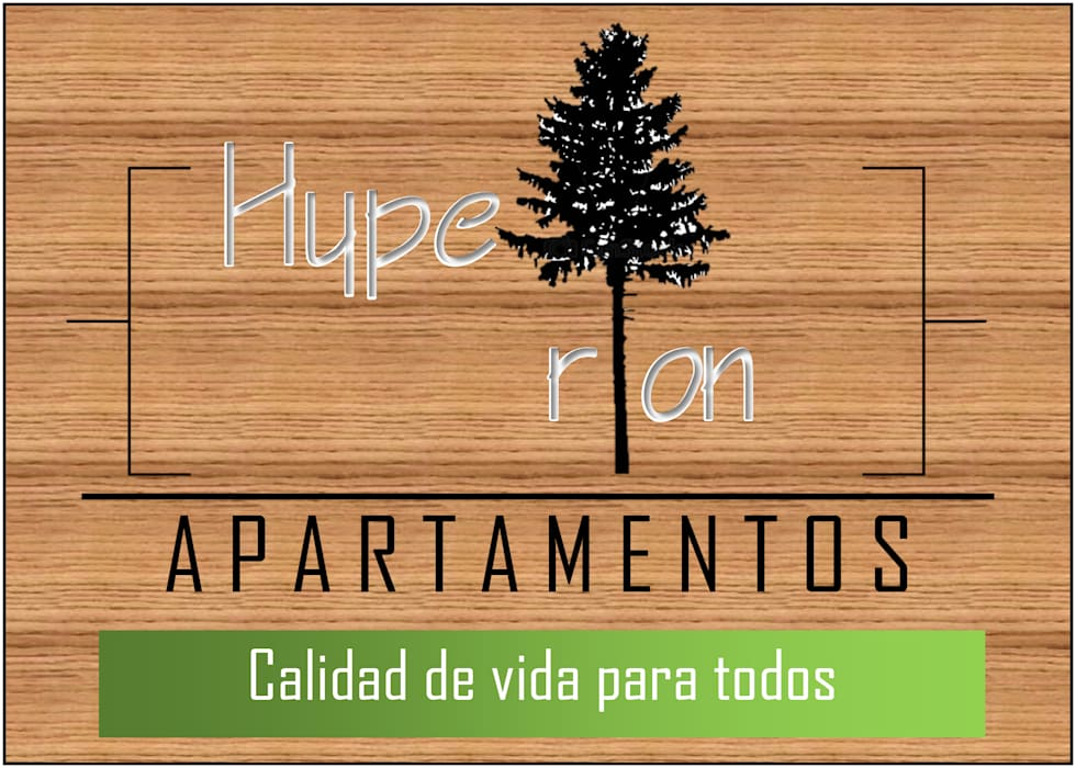 publicidad : Estudios y despachos de estilo  por OBS DISEÑO & CONSTRUCCION., Minimalista Madera Acabado en madera