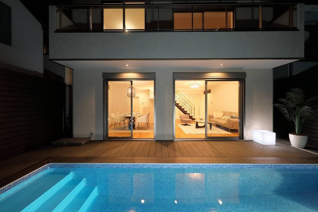 PROSPERDESIGN ARCHITECT OFFICE/プロスパーデザイン Garden Pool White