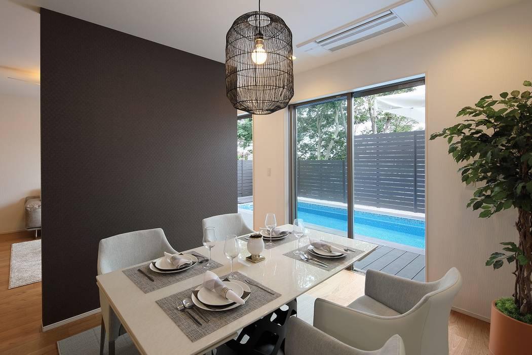 PROSPERDESIGN ARCHITECT OFFICE/プロスパーデザイン Modern dining room