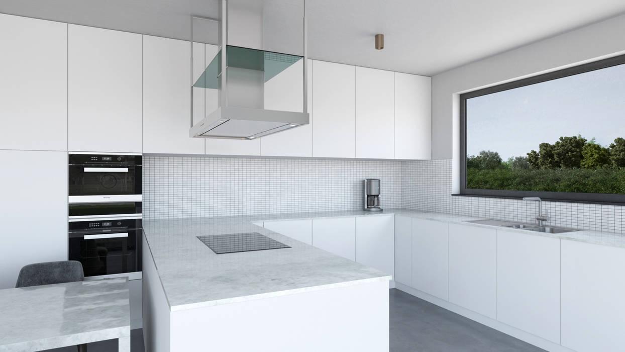 مطبخ تنفيذ Dündar Design - Mimari Görselleştirme , حداثي