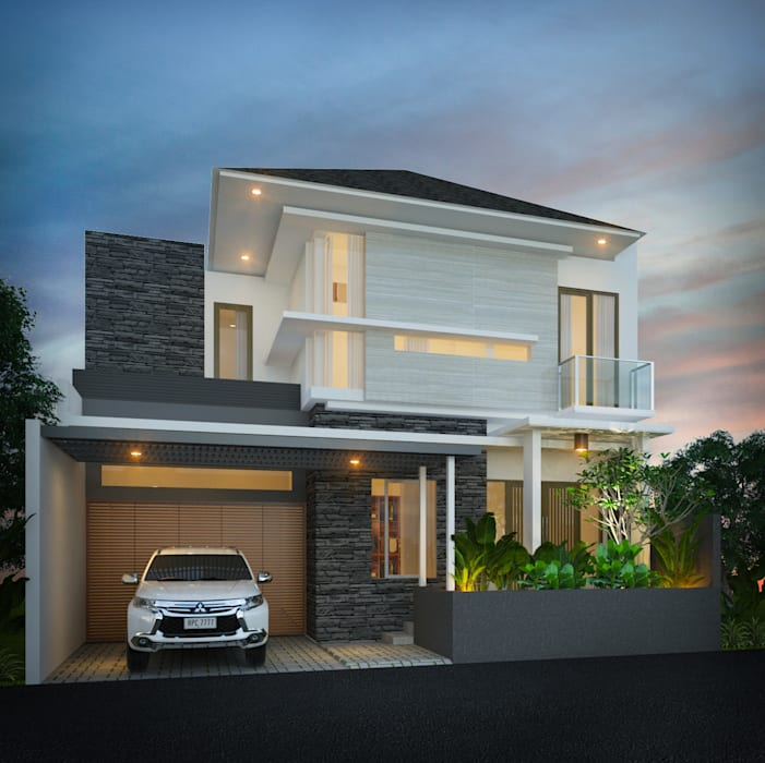 Private House Rumah Modern Oleh Arsitekpedia Modern