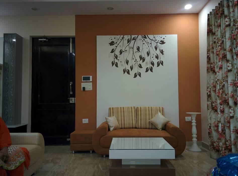 Living room :  Living room by Design Kreations