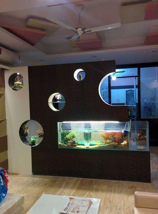 Moderne Wohnzimmer von Design Kreations Modern