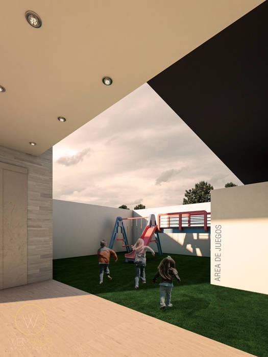 WERHAUS ARQUITECTOS Minimalist style garden
