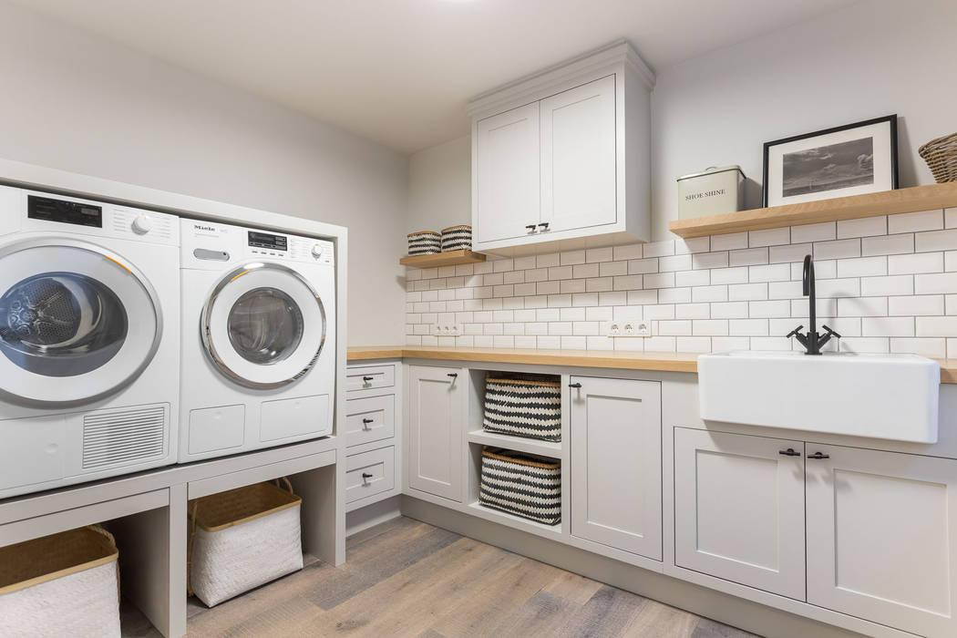 Privathaus in Kampen af Sylt:  Küche von Home Staging Sylt GmbH
