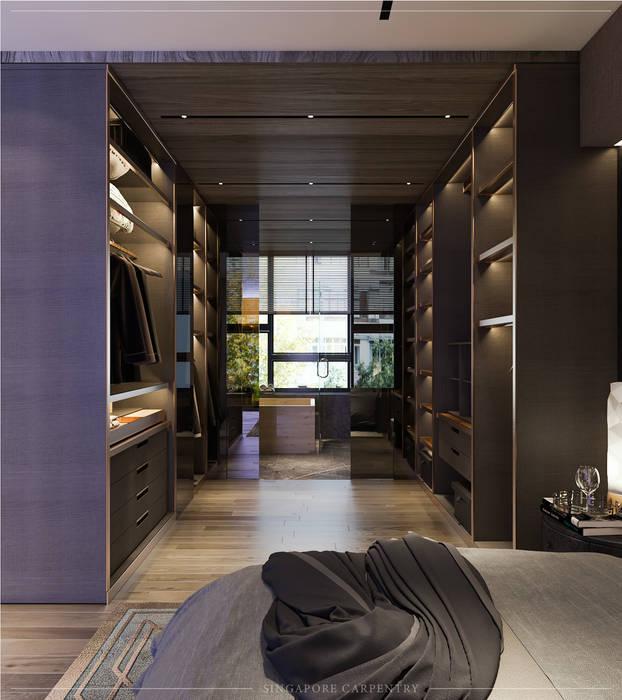Singapore Carpentry Interior Design Pte Ltd Kamar Tidur Modern