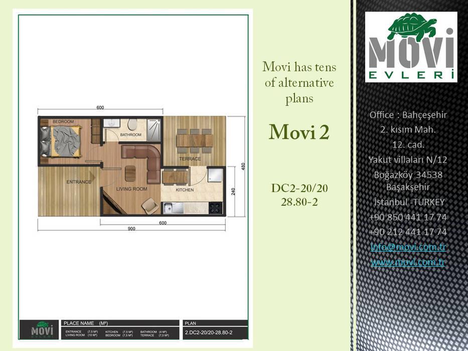 Villas by MOVİ evleri