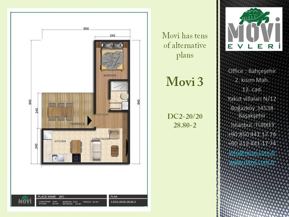 by MOVİ evleri Industrial