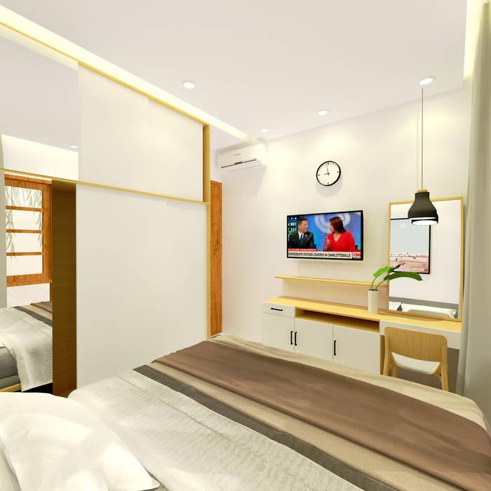 Desain kamar tidur (Bedroom Design):  Kamar Tidur by SEKALA Studio