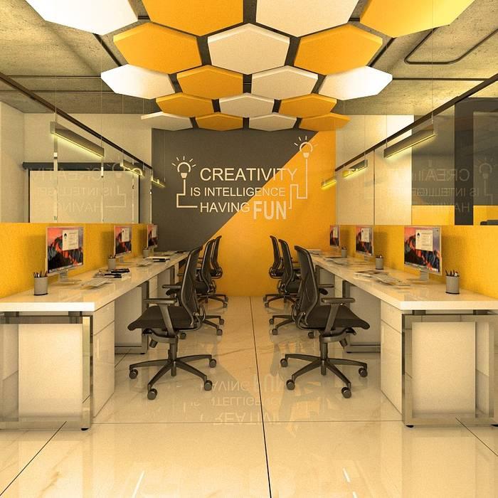 Ruang Kerja oleh Designs Combine , Asia