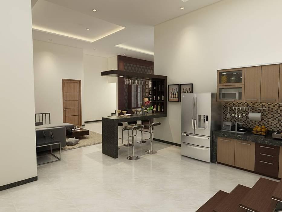 Kitchen by Arsitekpedia, Modern