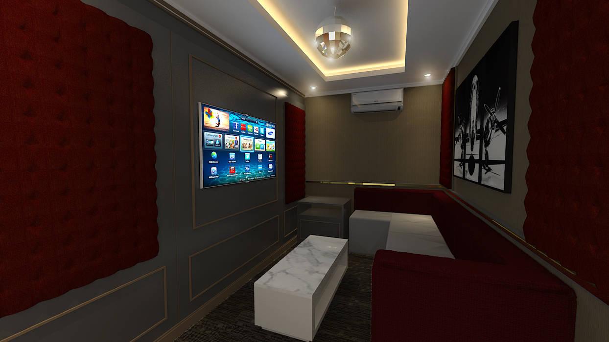Rumah Klasik: Ruang Multimedia oleh Arsitekpedia, Klasik