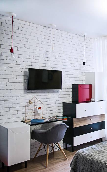 Modern Studio Apartment Moderne Arbeitszimmer Von Bohostudio