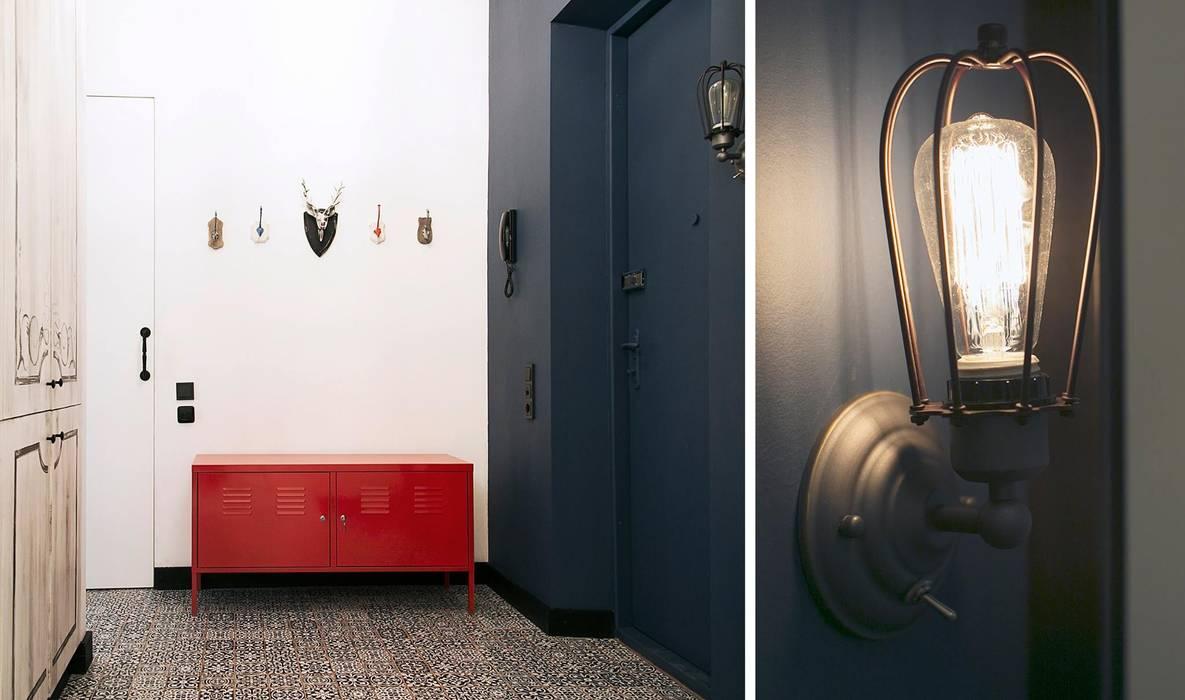 스칸디나비아 거실 by Bohostudio 북유럽