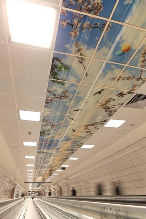Aeropuertos de estilo  por DESTONE YAPI MALZEMELERİ SAN. TİC. LTD. ŞTİ.