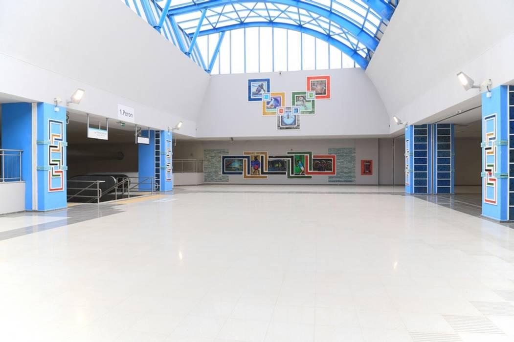 Museus industriais por DESTONE YAPI MALZEMELERİ SAN. TİC. LTD. ŞTİ. Industrial