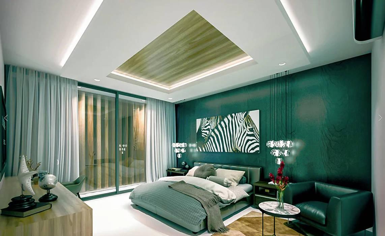 Habitaciones pequeñas de estilo  por COUTIÑO & PONCE ARQUITECTOS