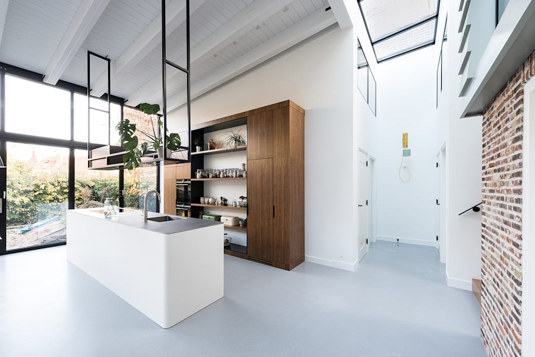 keuken Moderne keukens van Dineke Dijk Architecten Modern