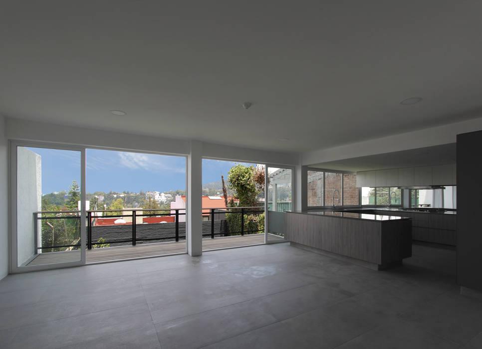 NEGRO arquitectura, S.A. de C.V. Lantai Batu Grey