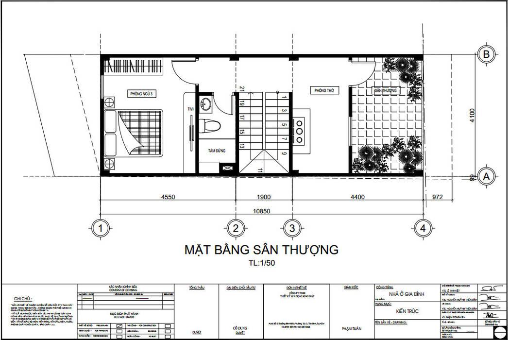 Công ty TNHH TK XD Song Phát Rumah tinggal Plastik